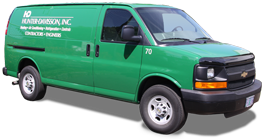 Our Green Vans!